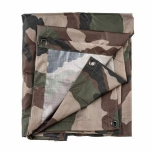 Bâche terrain ultra-light 3x3 m camouflage ce
