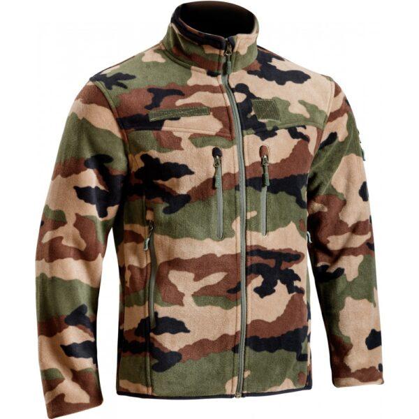 Blouson polaire defender camouflage ce TOE Concept