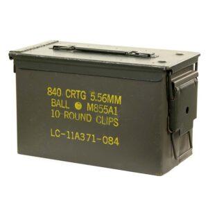 Caisse à munitions calibre 50 caisse de stockage batterie de drone