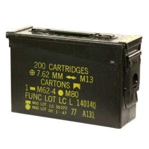 Caisse à munitions calibre 30 caisse de stockage batterie de drone