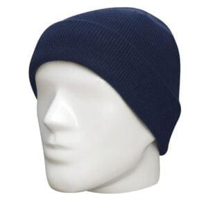 Bonnet militaire acrylique bleu Fostex Garments