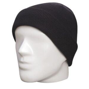 Bonnet militaire acrylique noir Fostex Garments