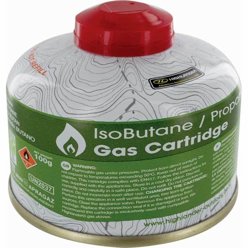 Bouteille de gaz 100ml