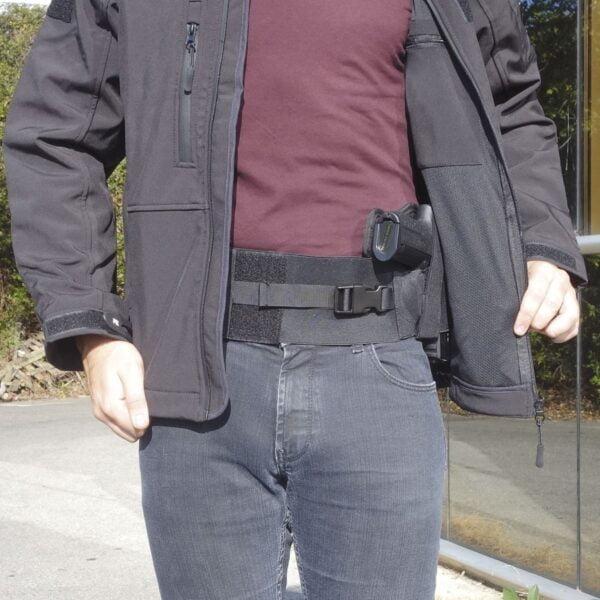 Ceinture port discret avec holster droitier Patrol Equipement