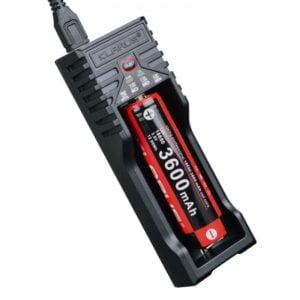 Chargeur pour 1 batterie rechargeable Klarus
