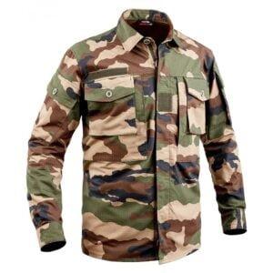 Chemise de combat camouflage ce type réglementaire TOE Concept