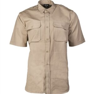 Chemise tropical manches courtes coyote Miltec