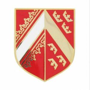 Ecu métal gendarmerie Alsace