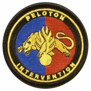 Ecusson tissu gendarmerie Peloton intervention