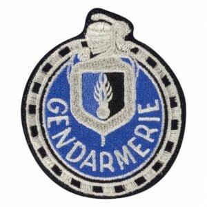 Ecusson tissu gendarmerie Motard départementale