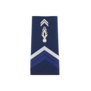 Fourreaux gendarmerie d'épaules gav brigadier chef souple
