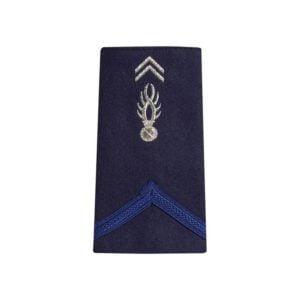 Fourreaux d'épaules gendarmerie gav première classe souple