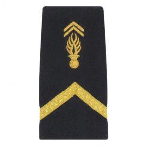 Fourreaux d'épaules gendarmerie sous contrat mobile souple