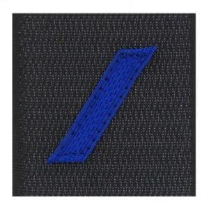 Galon grade gendarmerie poitrine 1re classe tissu