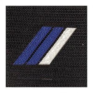 Galon grade gendarmerie brigadier chef tissu