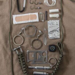 Kit de survie paracorde Miltec