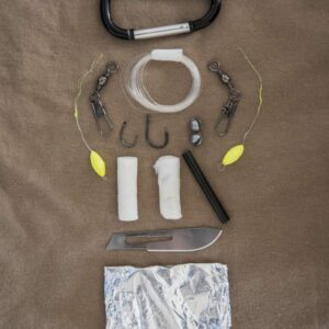 Kit de survie paracorde petit modèle Miltec