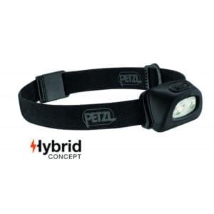 Lampe frontale 350 lumens Petzl noir TOE Concept