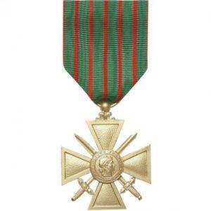 Médaille ordonnance croix de guerre 14/18 DMB