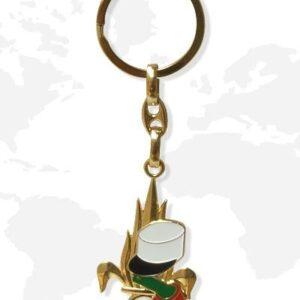 Porte clés métal légion Patrol Equipement