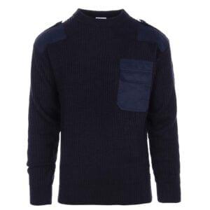 Pull Otan acrylique bleu Fostex Garments