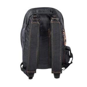 Sac à dos style parachute noir Fostex Garments