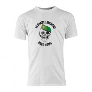 T-shirt coton diable marche légion