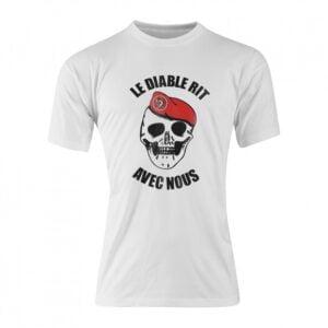 T-shirt coton diable rit métro