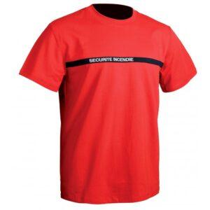T-shirt Sécurité incendie TOE Concept