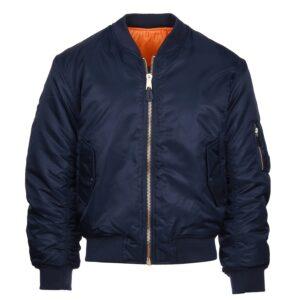 Veste bombers aviation bleu Fostex Garments