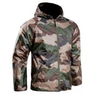 Veste de pluie membranée ultra-light camouflage ce TOE Concept