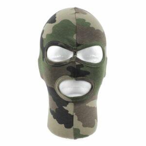 Cagoule 3 trous coton camouflage CE - Patrol