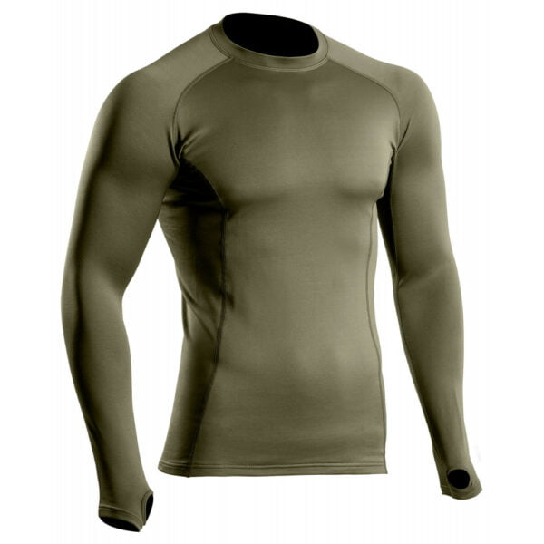 maillot thermo performante niveau2 vertkaki