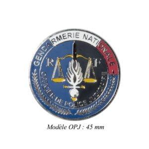 Médaille pour porte carte OPJ Patrol Equipement