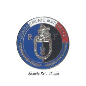 Médaille pour porte carte Gendarmerie Nationale Patrol Equipement