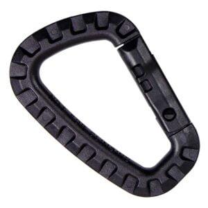 Mousqueton en plastique polymère noir - 101 Inc