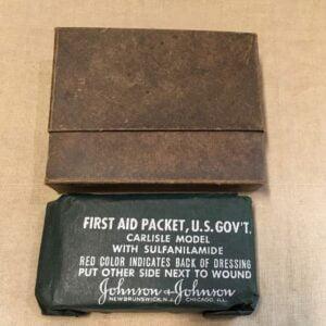 Pansement US ww2 / First-aid packet dressing
