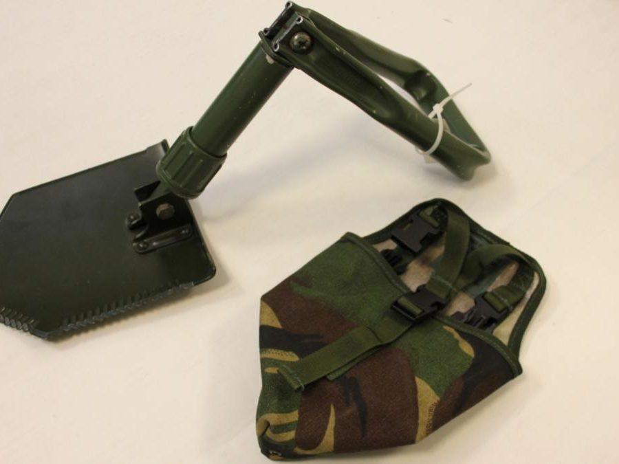 Pelle pliable militaire armée Allemande