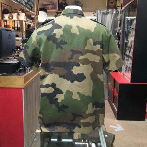 Chemisette camouflage CE armée Française
