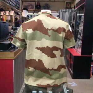 Chemisette camouflage désert armée Française
