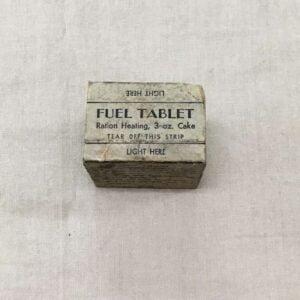 Tablette de combustible pour réchaud US ww2 / fuel tablet ration heating