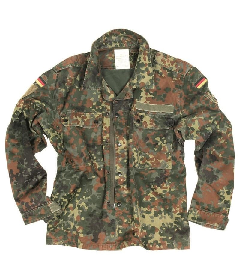Veste cam. flecktarn Bundeswehr armée Allemande