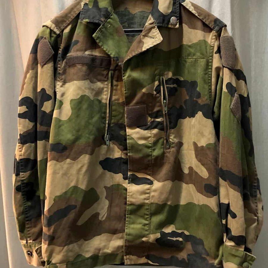Veste F2 camouflage CE armée Française