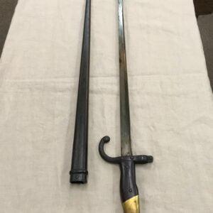 Baïonnette 1877 pour fusil gras