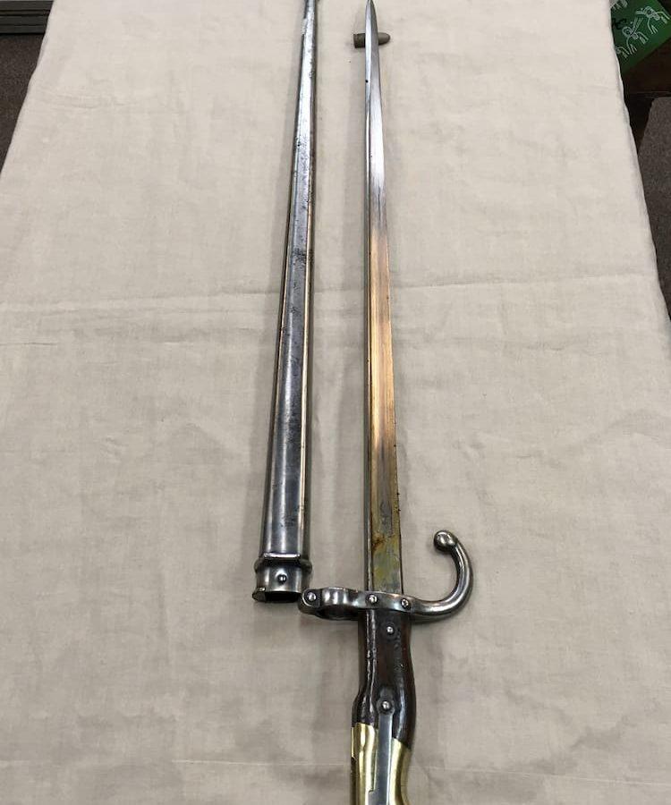 Baïonnette 1879 pour fusil gras