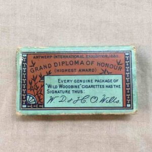 Paquet de 10 cigarettes cards wd & ho wills Anglais ww2