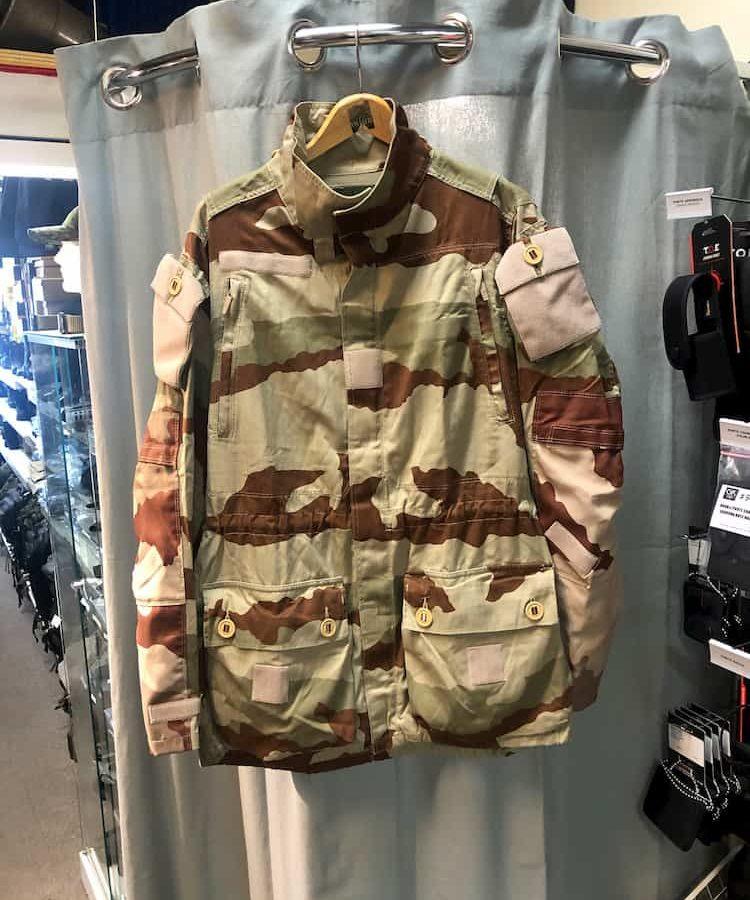 Veste Félin camouflage désert armée Française