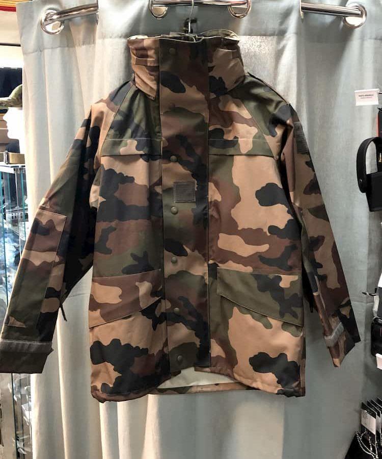 Parka Goretex camouflage CE armée Française