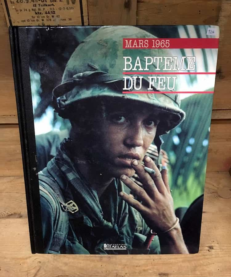 Livre Baptême du feu