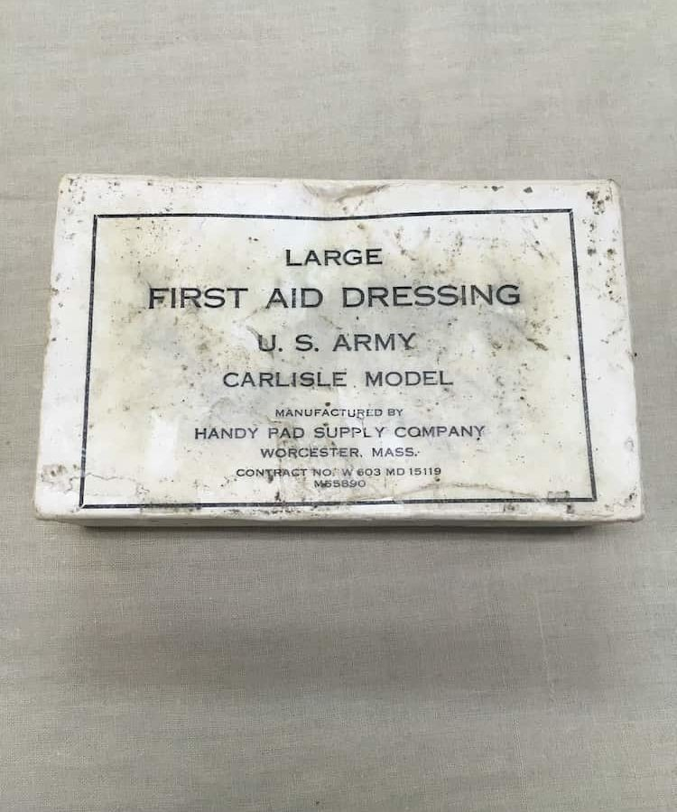 Pansement US ww2 Large first-aid dressing